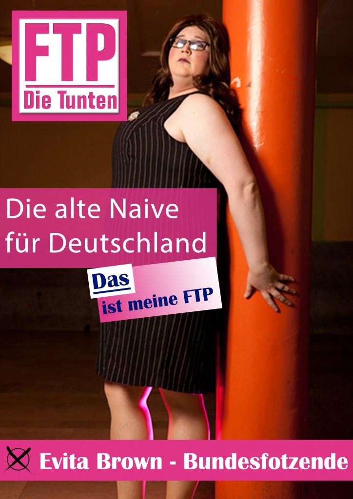 Evita Brown - Bundeskanzler*in